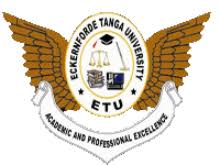 Eckernforde Tanga University Joining Instruction