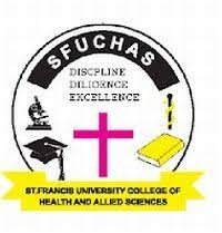 SFUCHAS admission form